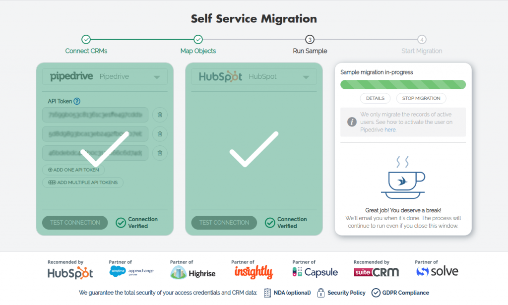 """""""Free Sample Migration"""" to launch"""